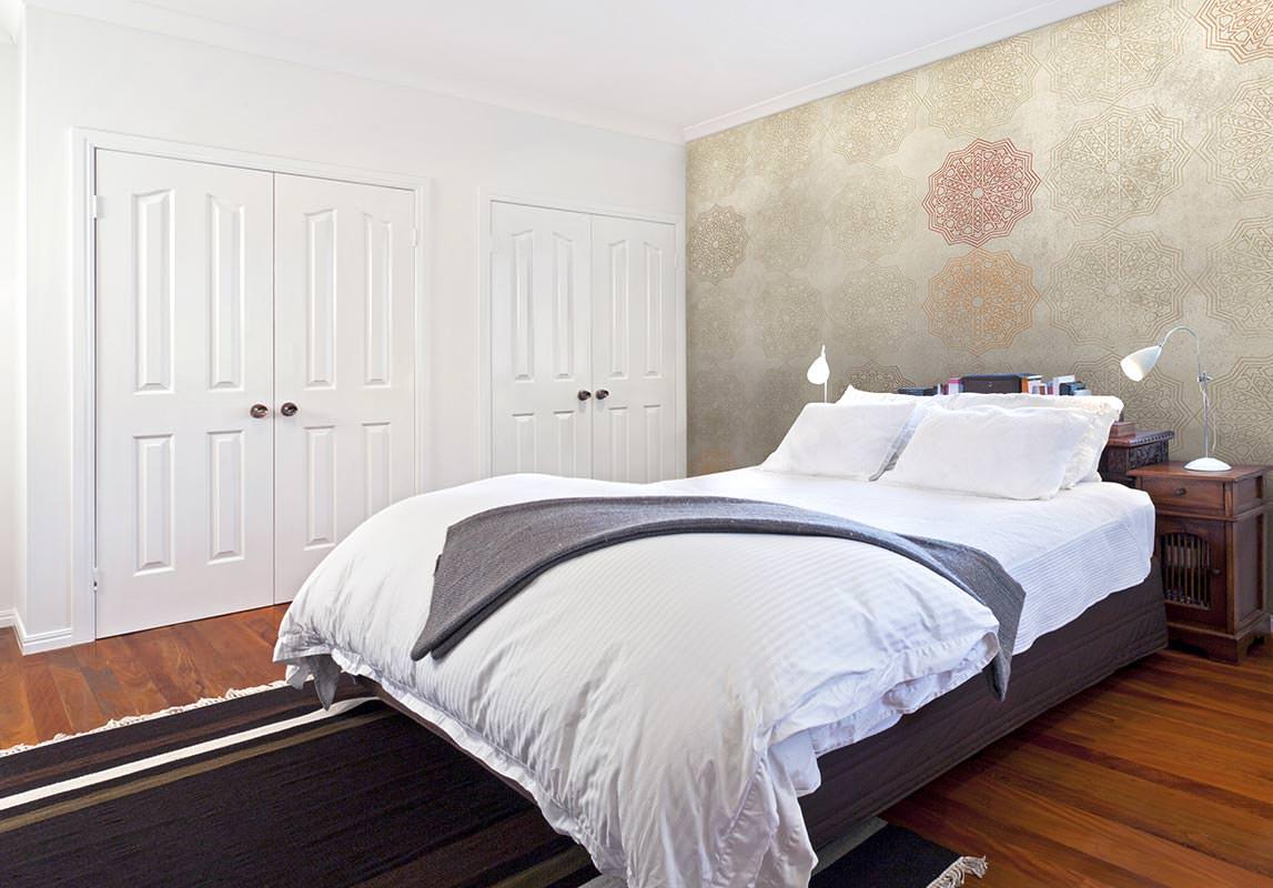 Crisang puertas suelos armarios y materiales de - Cabeceros de papel pintado ...